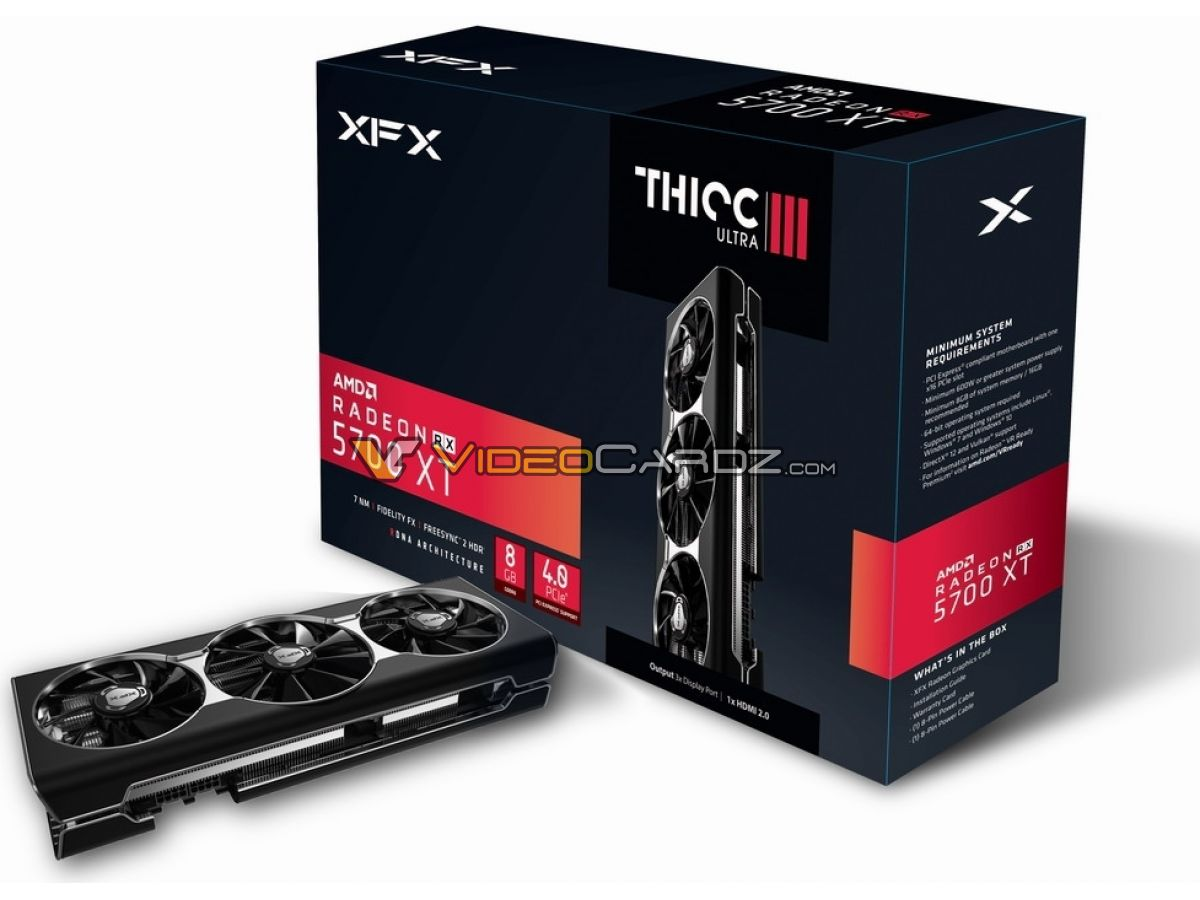 Image 5 : XFX Radeon RX 5700 XT THIC III : encore plus grosse, encore plus rapide