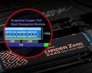 Image 2 : TeamGroup : un SSD PCIe 4.0 avec un radiateur de seulement 1 mm d'épaisseur