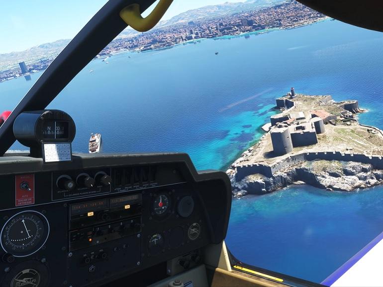 Image 1 : L'équipe aux commandes du prochain Flight Simulator travaille un mode VR
