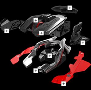 Image 2 : Mad Catz sort sa souris R.A.T.AIR, un modèle sans piles... ni batterie !