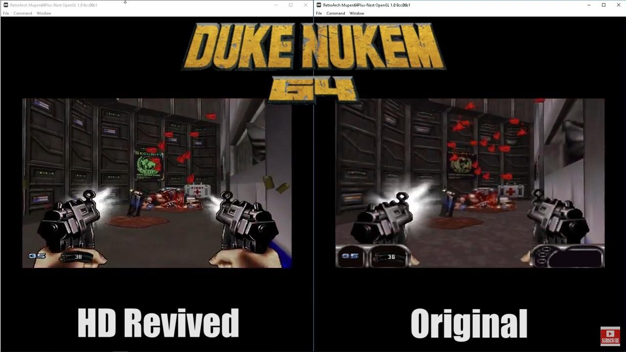Image 1 : Vidéo : Mario Kart 64 et Duke Nukem 64 avec des textures améliorées par l'IA !