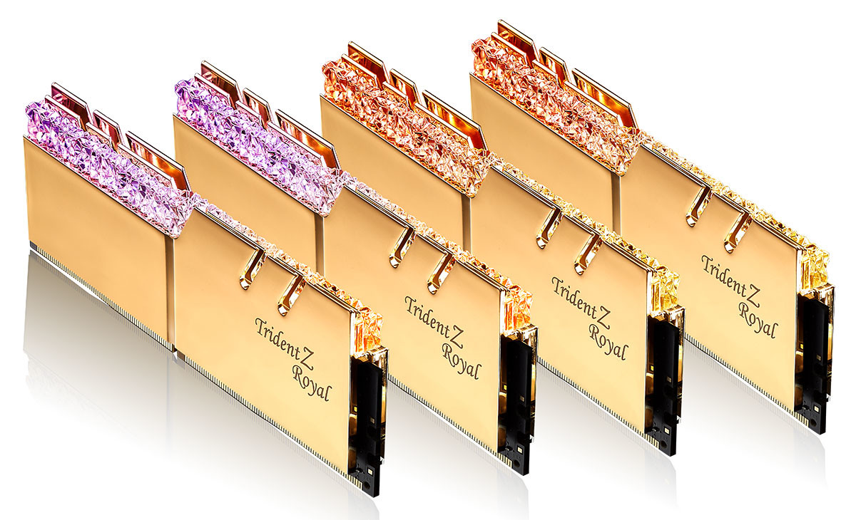Image 1 : Record de timings : G.Skill présente un kit mémoire DDR4-4000 en CL15 !