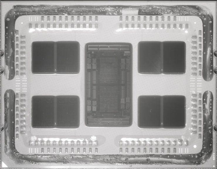 Image 1 : AMD : les processeurs EPYC Rome Zen2 taquinent les 40 milliards de transistors