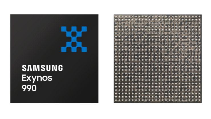 Image 1 : Samsung dévoile l'Exynos 990 : gravure 7 nm EUV, cœurs M5 et LPDDR5-5400 !