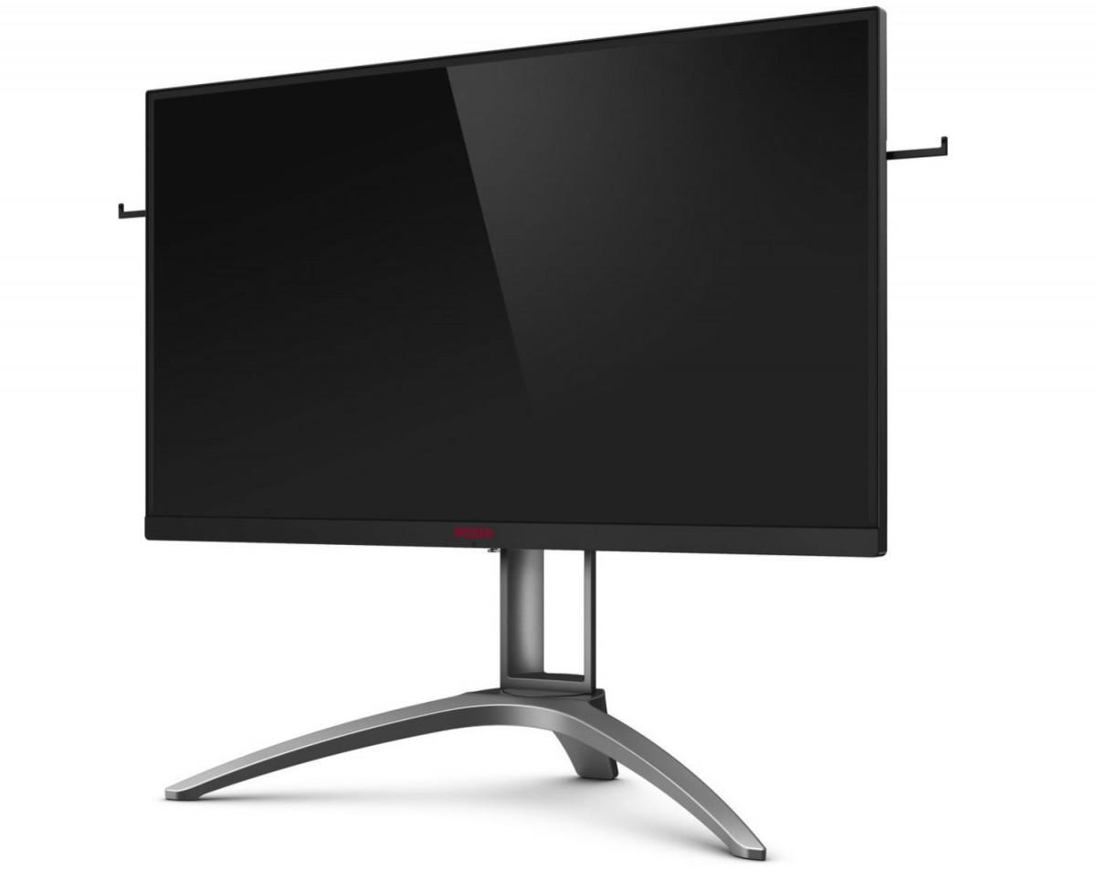 Image 1 : AOC AGON AG273QX : écran gaming WQHD 165 Hz sur une dalle VA 27 pouces HDR