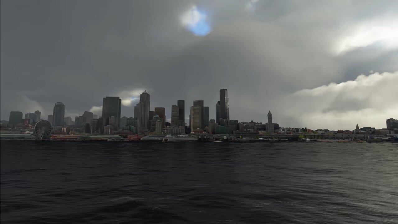 Image 2 : Vidéo : de sublimes effets météo pour Flight Simulator