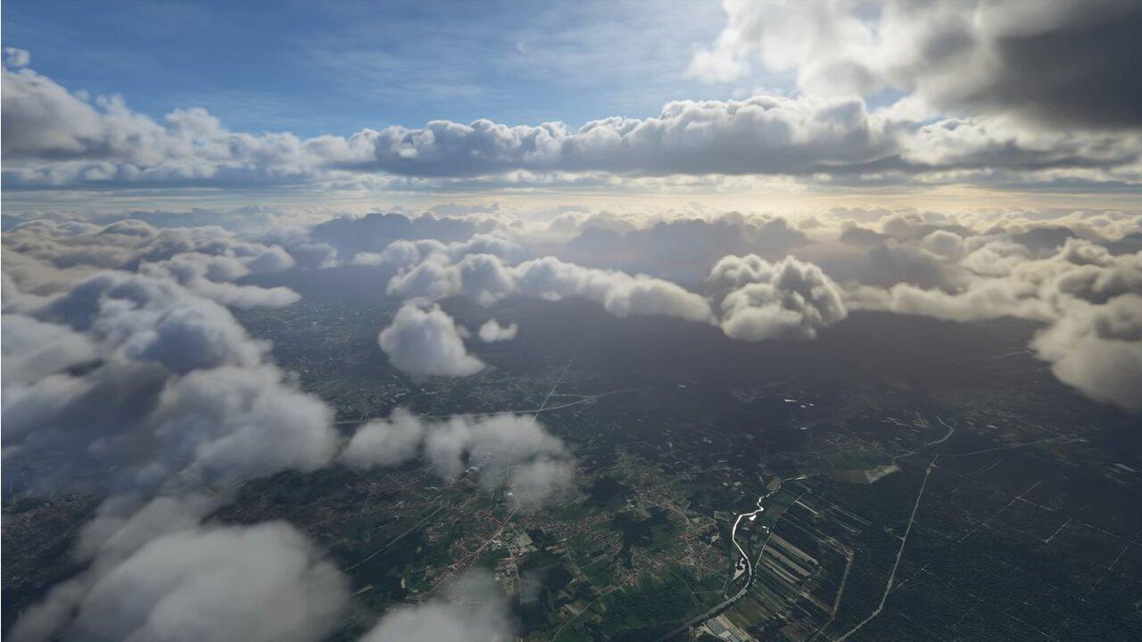 Image 1 : Vidéo : de sublimes effets météo pour Flight Simulator