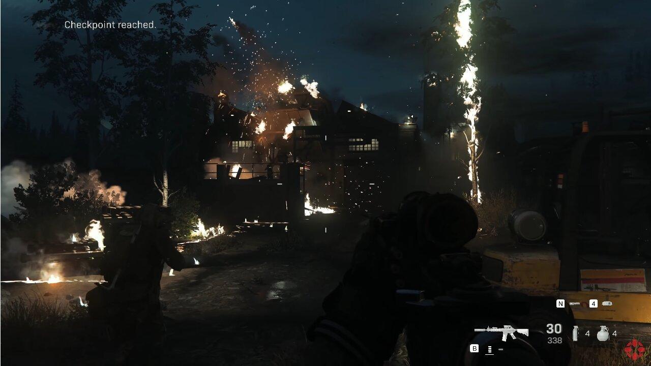 Image 1 : Vidéo : les 20 premières minutes du solo de COD Modern Warfare en 4K60