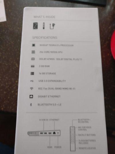 Image 1 : NVIDIA Shield TV Pro : les caractéristiques officielles
