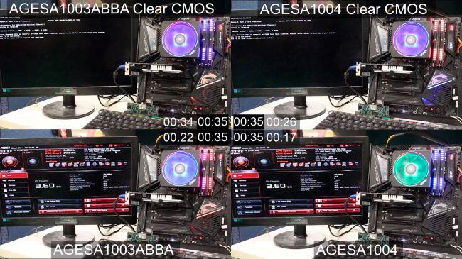Image 1 : Les cartes mères X570 MSI bootent 20 % plus vite grâce à leur dernier BIOS