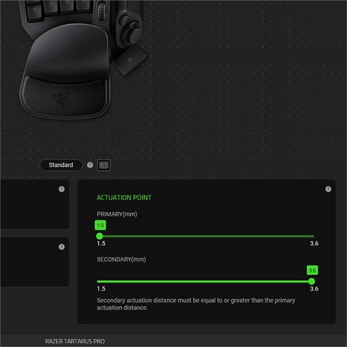 Image 2 : Razer Tartarus Pro : un keypad avec switch optique, vendu à 'prix Razer' !