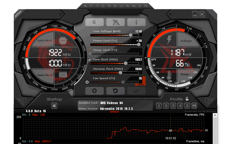 Image 1 : MSI Afterburner 4.6.2 est disponible en version finale
