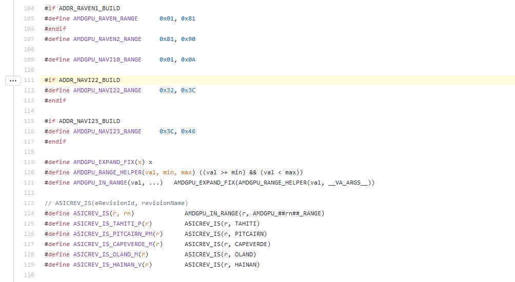 Image 1 : AMD : des GPU Navi 22 et 23 surgissent dans des pilotes Linux
