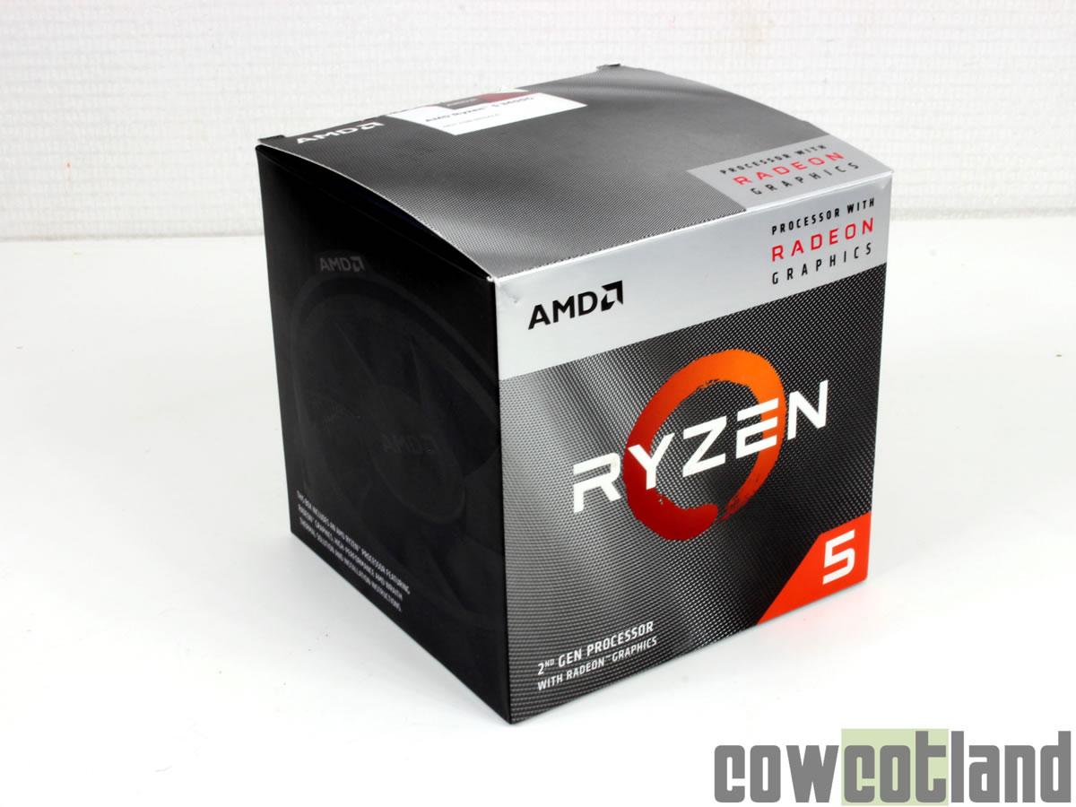 Image 1 : Test du processeur AMD Ryzen 5 3400G
