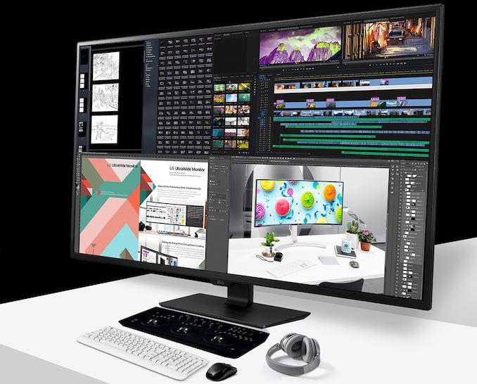 Image 1 : LG lance un nouvel écran UHD 42,5 pouces, avec une dalle IPS mais sans FreeSync