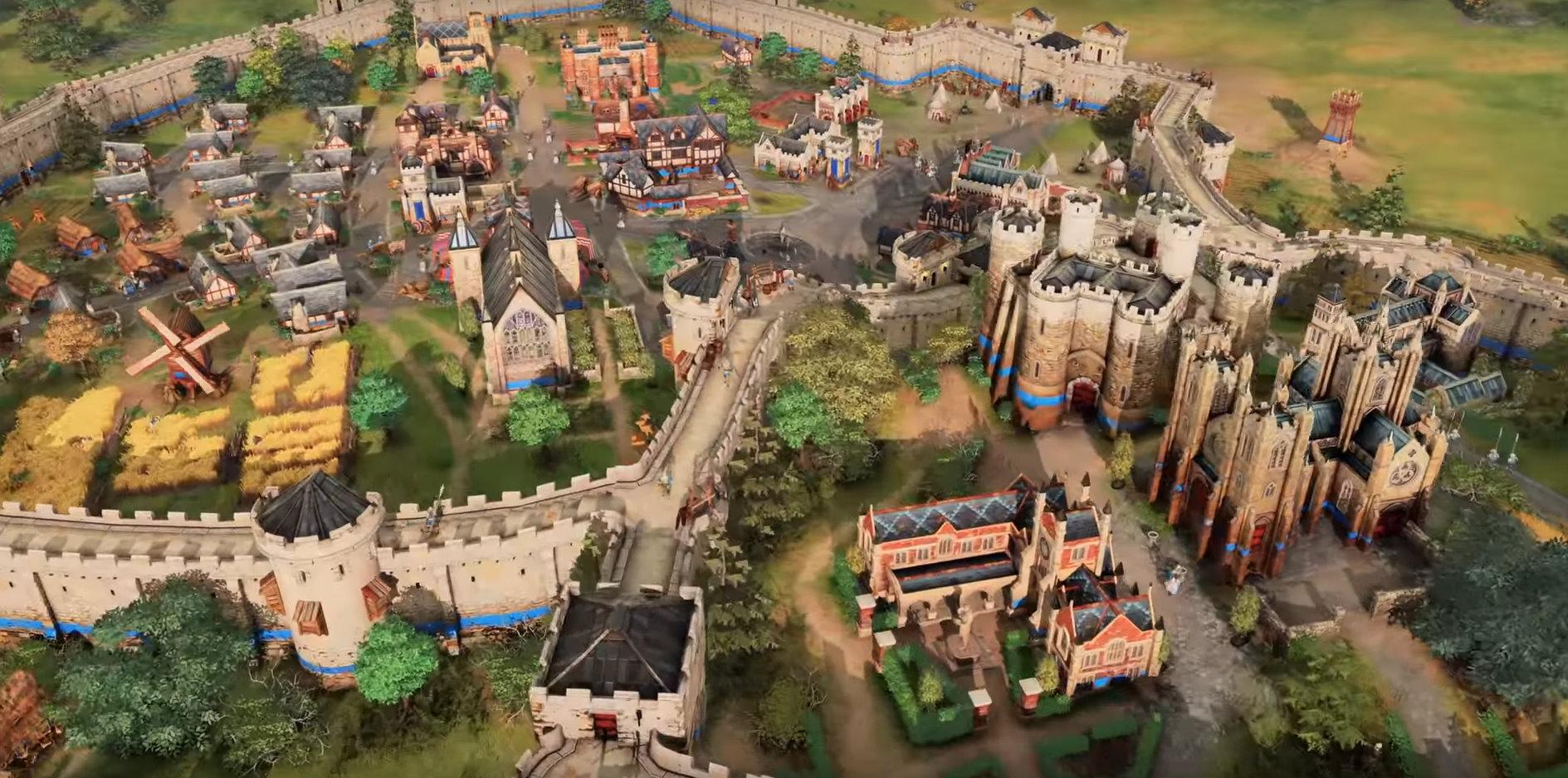 Image 1 : Vidéo : première vidéo de gameplay en 4K pour Age of Empire 4 !