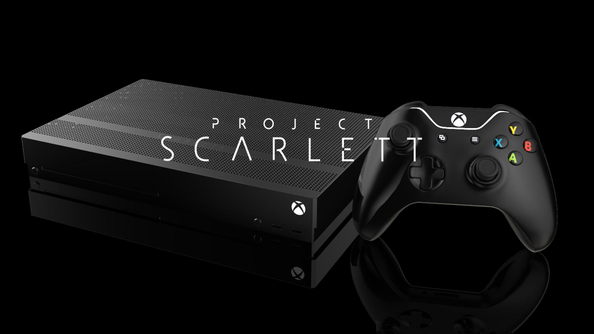Image 1 : Xbox Scarlett : objectif 120 Hz pour les jeux en 1080p