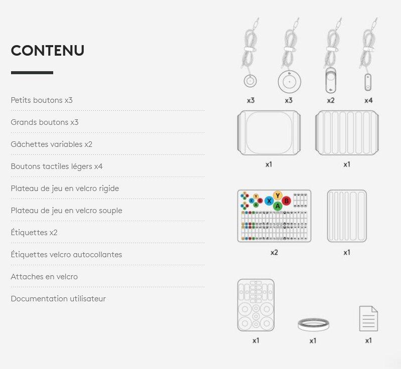 Image 3 : Logitech lance un Adaptive Gaming Kit pour les joueurs handicapés