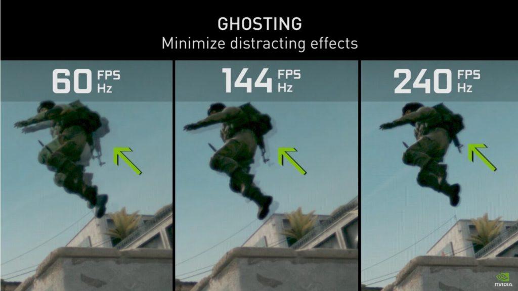 Image 2 : Vidéo : NVIDIA démontre que jouer à 240 ips plutôt qu'à 60 permet d'améliorer son ratio !