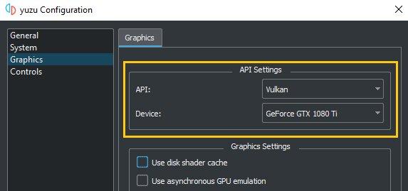 Image 4 : L'émulateur Yuzu désormais compatible avec l'API Vulkan, de gros gains pour les cartes AMD !