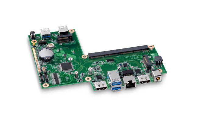 Image 2 : Intel présente ses mini-PC NUC Element, du Celeron 4305U au Core i7-8665U en passif !