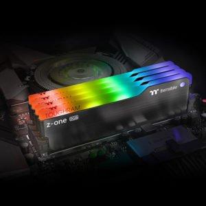 Image 2 : Thermaltake ajoute un kit 16 Go en DDR4-3200 CL16 à sa gamme Tougrham Z-ONE RGB