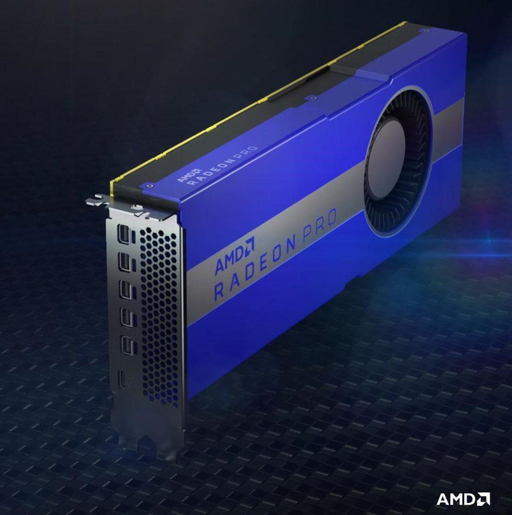 Image 1 : AMD dévoile une Radeon Pro W5700X avec 16 Go de mémoire GDDR6