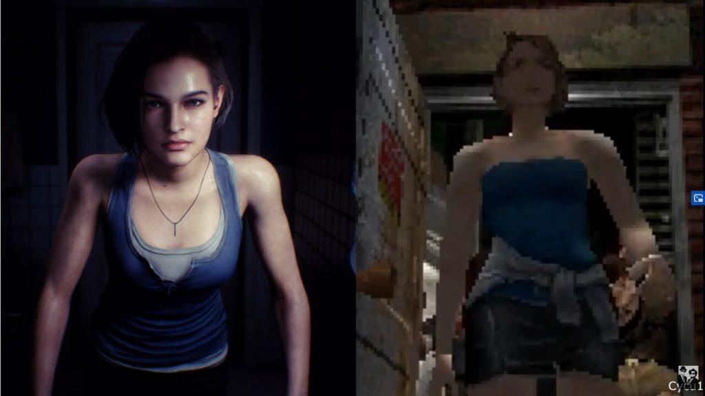 Image 1 : Vidéo : Resident Evil 3 Remake comparé au jeu original, il n'y a pas photo