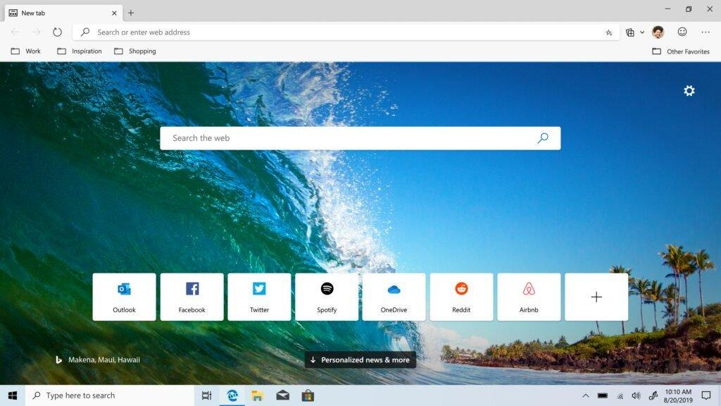 Image 1 : Microsoft va déployer automatiquement Chromium Edge sur tous les Windows 10