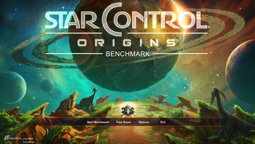 Image 1 : Star Control: Origins, un benchmark DX12 et Vulkan par le développeur d'AotS