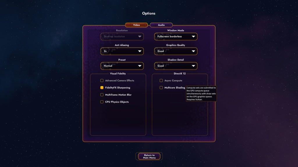 Image 2 : Star Control: Origins, un benchmark DX12 et Vulkan par le développeur d'AotS