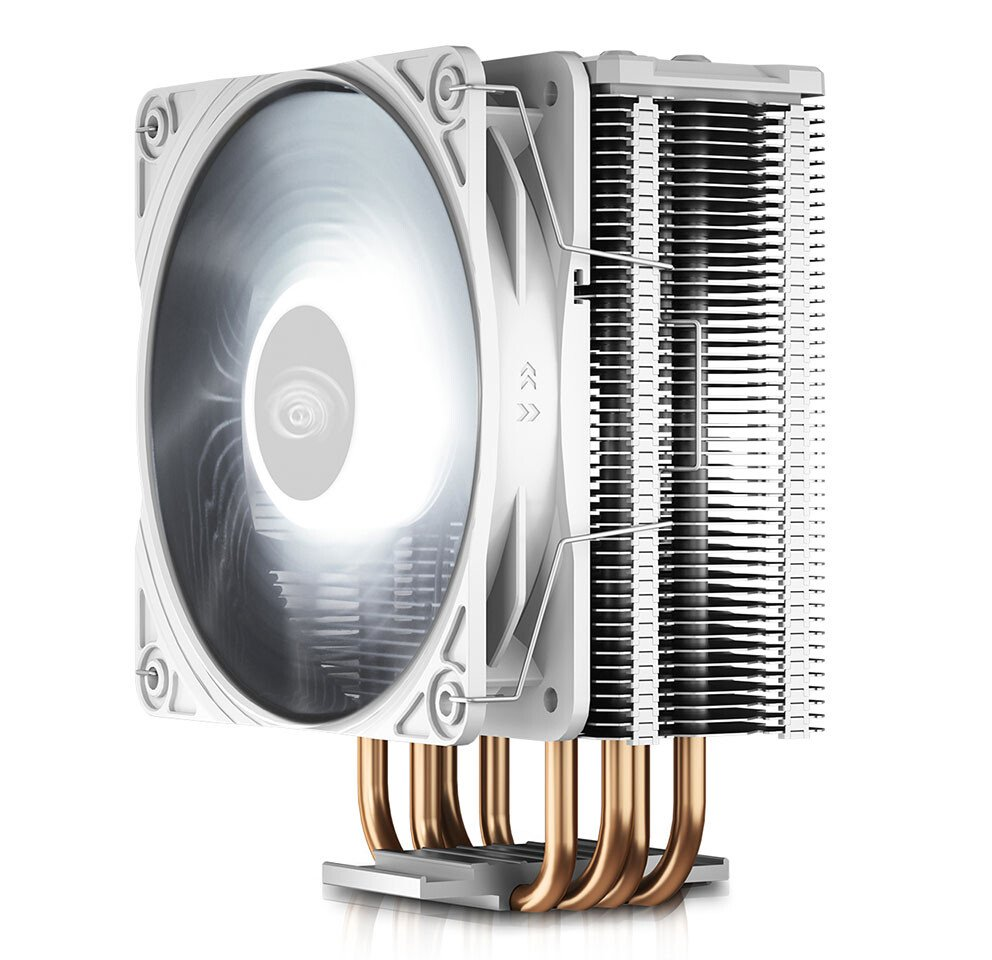 Image 1 : Deepcool habille de blanc son ventirad GAMMAXX GTE V2