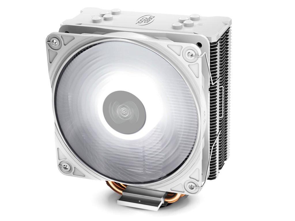 Image 2 : Deepcool habille de blanc son ventirad GAMMAXX GTE V2