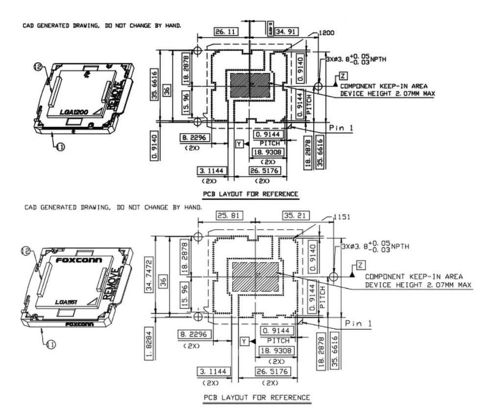 Image 1 : Intel : les dissipateurs CPU LGA115x seraient compatibles avec le socket LGA2000