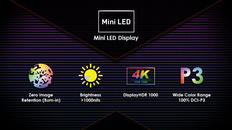 Image 2 : MSI dévoile le Creator 17, un ordinateur portable avec écran mini LED