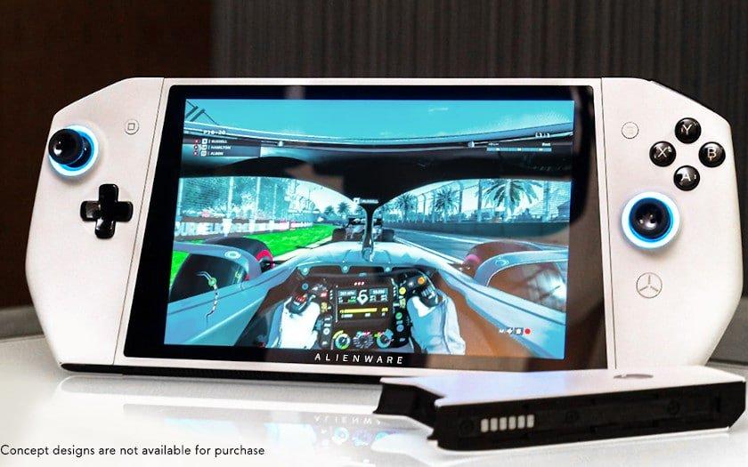 Image 1 : Alienware s'inspire de la Switch pour son Concept UFO