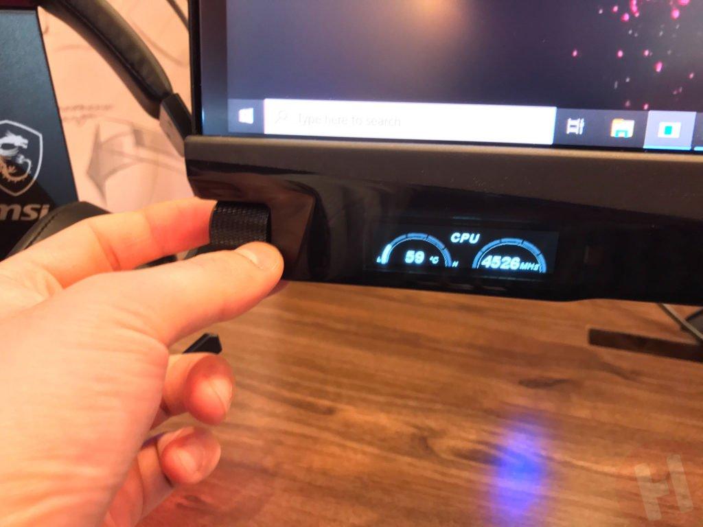 Image 2 : MSI Optix MEG381CQR : un 38 pouces IPS avec mini-écran intégré