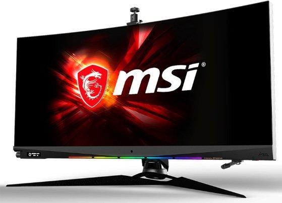 Image 1 : MSI Optix MEG381CQR : un 38 pouces IPS avec mini-écran intégré