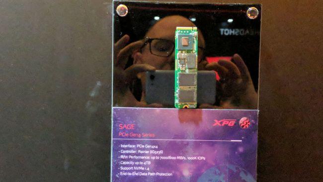 Image 2 : Jusqu'à 7 Go/s et un million d'IOPS pour le SSD XGP Sage d'Adata