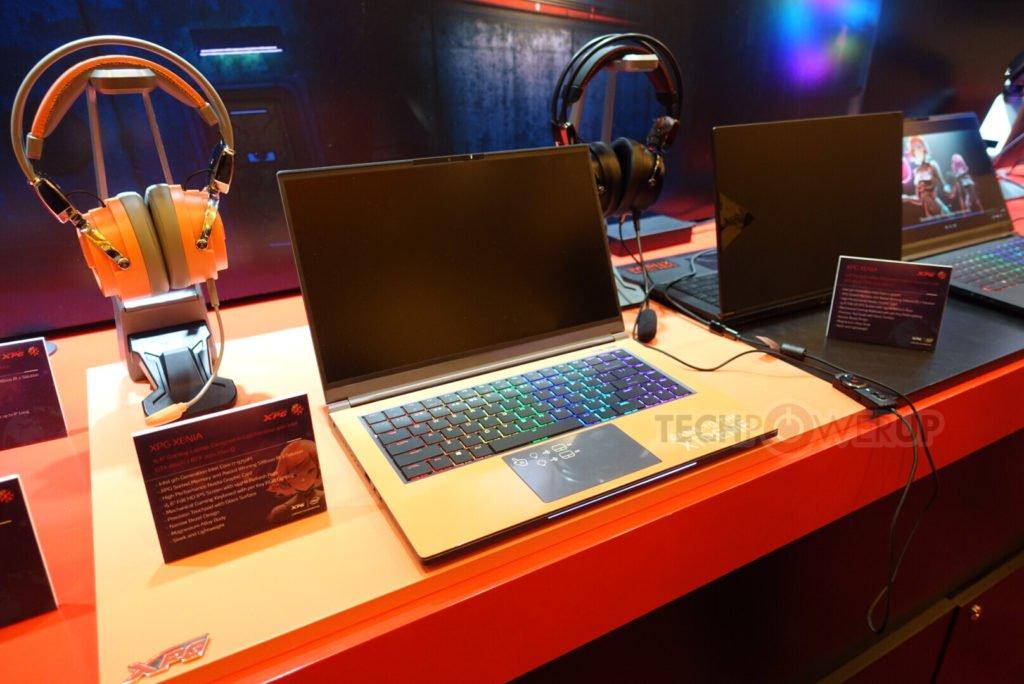 Image 2 : Adata présente un clavier plaqué or, un écran UHD, des PC portables et plein d'autres produits