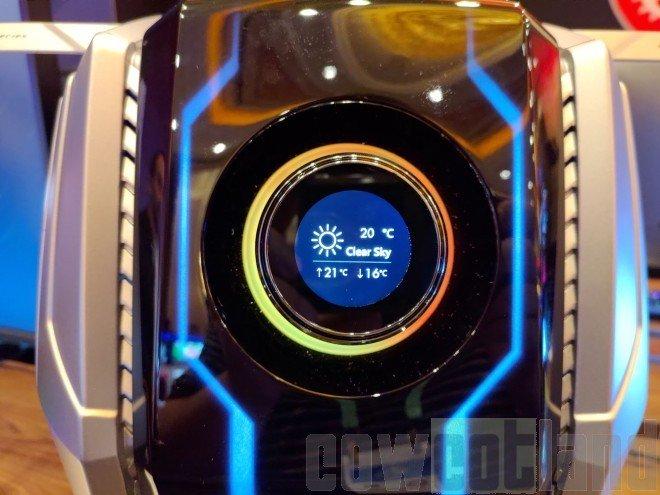 Image 2 : MSI MEG Aegis Ti5, look futuriste pour un PC de compétition