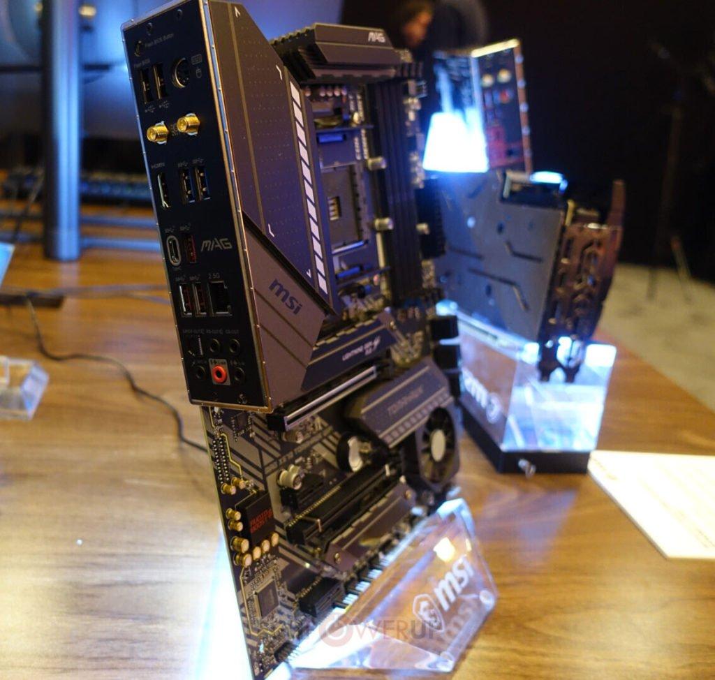 Image 2 : MSI dévoile sa carte mère MAG X570 Tomahawk Wi-Fi