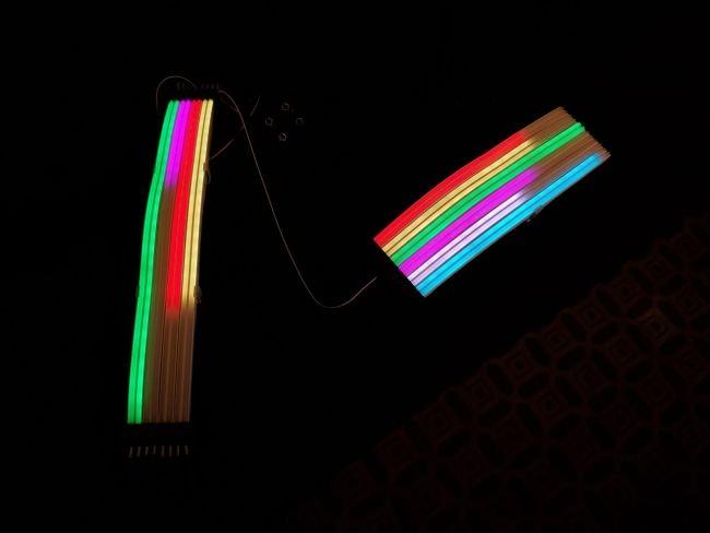 Image 1 : Lian Li passe ses câbles RGB Strimer en mode Plus, encore plus beaux !