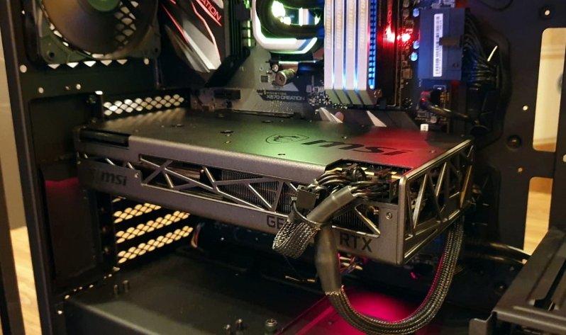 Image 1 : MSI prépare une RTX 2070 Super toute noire