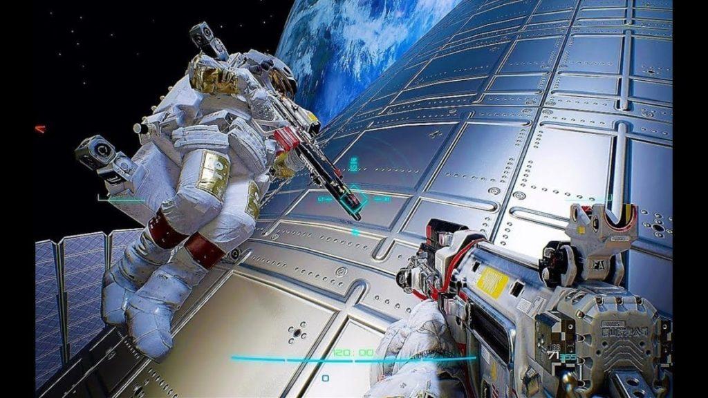 Image 1 : Vidéo : direction l'espace avec le FPS spatial Boundary, tout en ray tracing !