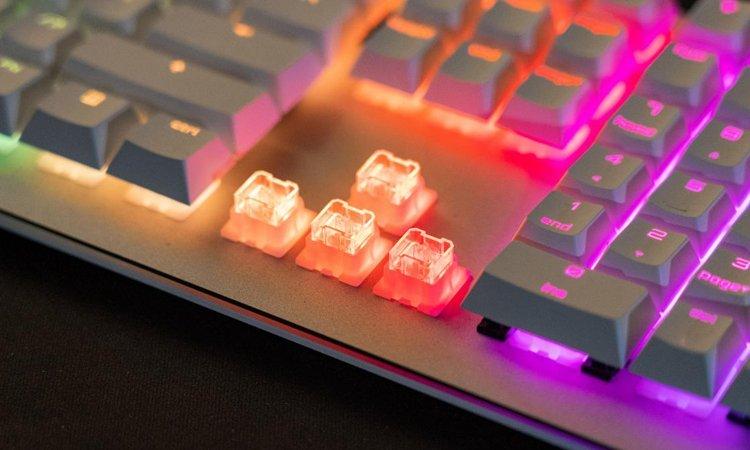 Image 1 : Cherry lance ses switches Viola, pour des claviers mécaniques abordables