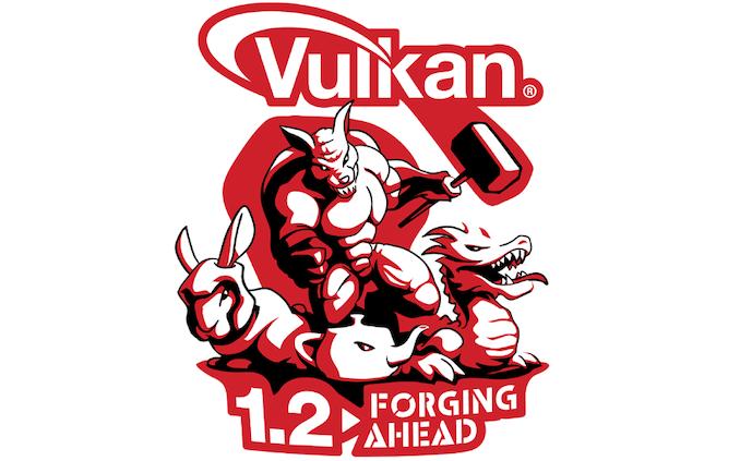 Image 1 : Sortie de Vulkan 1.2, avec des pilotes Nvidia et AMD compatibles