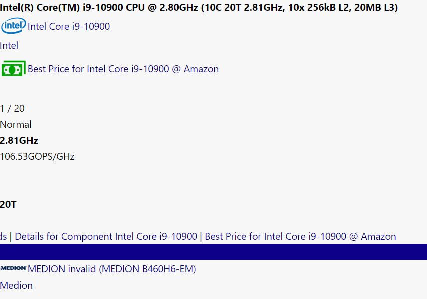 Image 3 : Des chipsets Intel Z490, B460, H410 et même H510 surgissent d'un peu partout