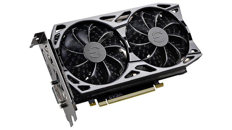 Image 1 : Les GeForce RTX 2060 KO d'EVGA sont dotées de GPU TU106, mais aussi de TU104