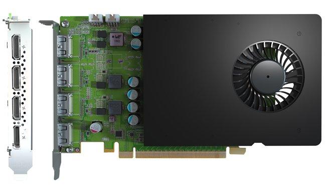 Image 1 : Matrox présente la D-Series, des cartes avec GPU Quadro et 4 sorties vidéo